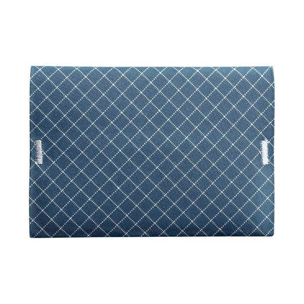 Pioneer ION 10XD Ripstop Bifold Wallet (Blue) - Front View