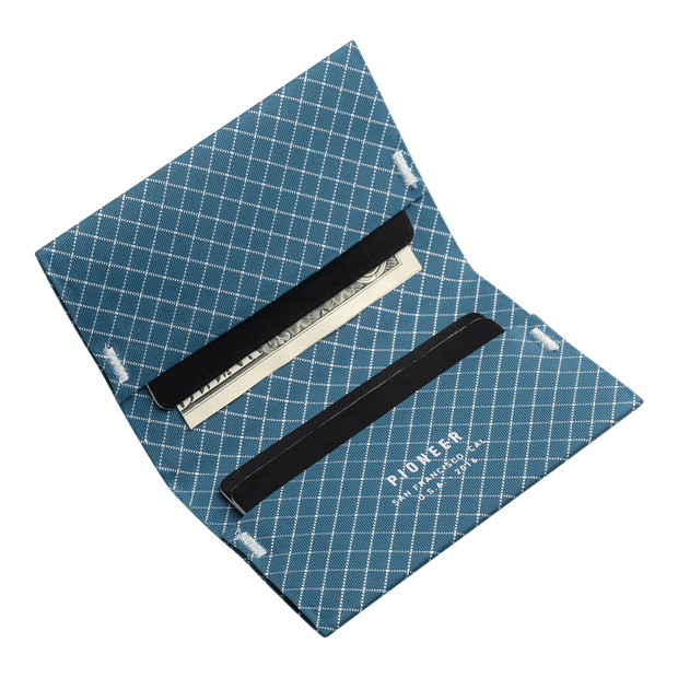 Pioneer ION 10XD Ripstop Bifold Wallet (Blue) - Cards & Cash