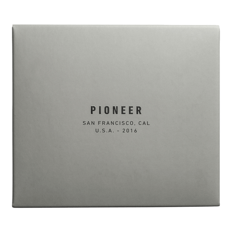 Pioneer Ion 3PN Matte Bifold Wallet (Evergreen) - Packaging