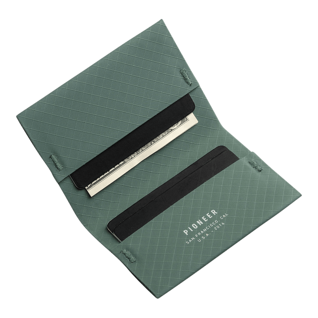 Pioneer ION 10XD Ripstop Bifold Wallet (Evergreen) - Cards & Cash