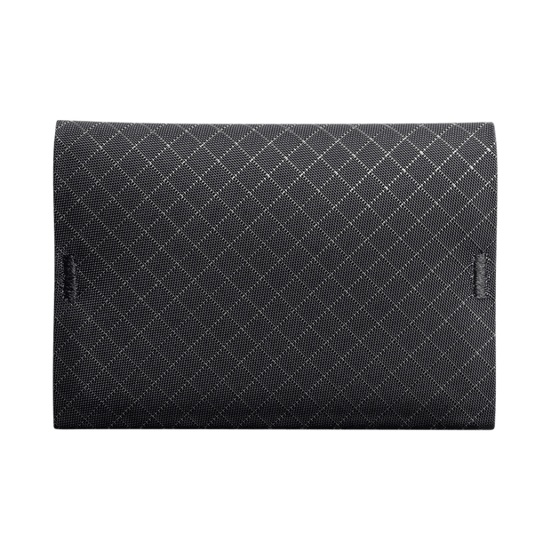 Pioneer Ion 10XD Ripstop Bifold Wallet (Onyx) - Front View