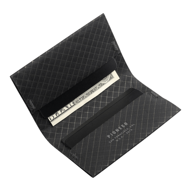 Pioneer ION 10XD Ripstop Bifold Wallet (Onyx) - Cards & Cash