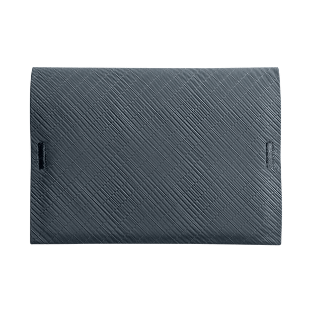 Pioneer ION 10XD Ripstop Bifold Wallet (Slate) - Front View