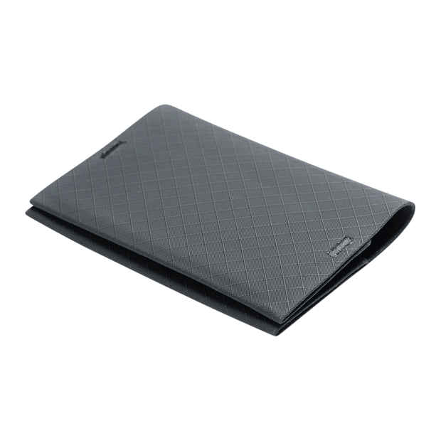 Pioneer Ion 3PN Matte Bifold Wallet (Slate) - Angled View