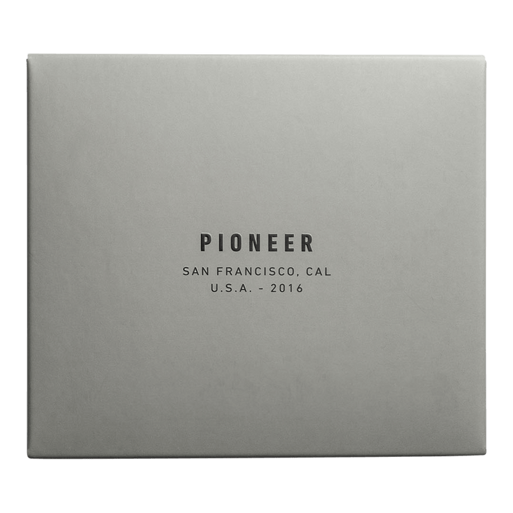 Pioneer Ion 3PN Matte Bifold Wallet (Slate) - Packaging
