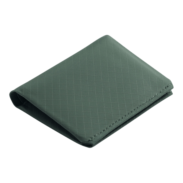 Pioneer Matter 3PN Matte Bifold Wallet (Evergreen) - Angled View