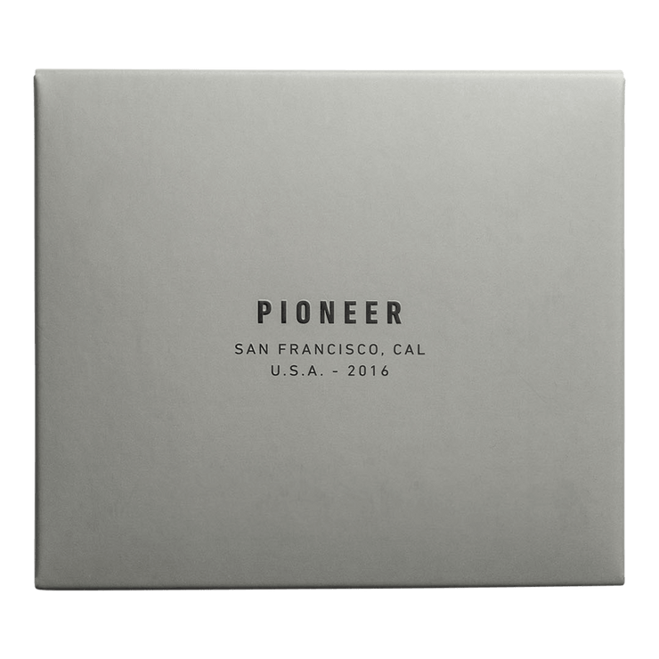 Pioneer Matter 3PN Matte Bifold Wallet (Evergreen) - Packaging