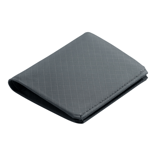 Pioneer Matter 3PN Matte Bifold Wallet (Slate) - Angled View