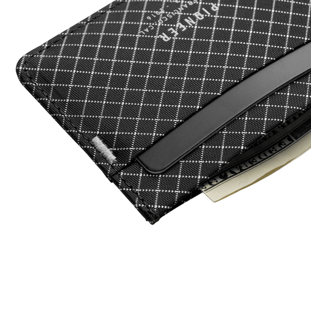 Pioneer Molecule 10XD Ripstop Card Wallet (Black) - Close Up