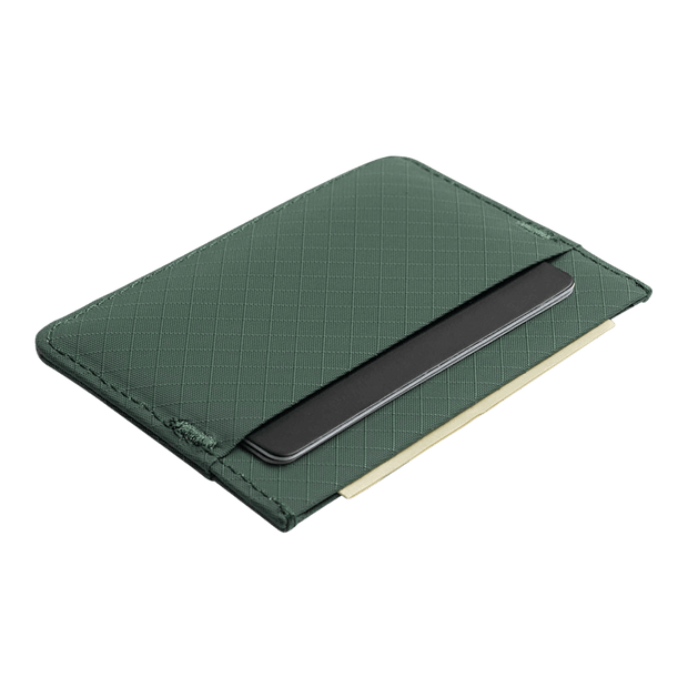 Pioneer Molecule 3PN Matte Card Wallet (Evergreen) - Back View