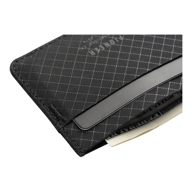 Pioneer Molecule 10XD Ripstop Card Wallet (Onyx) - Close Up