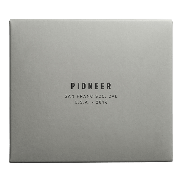 Pioneer Molecule 3PN Matte Card Wallet (Slate) - Packaging