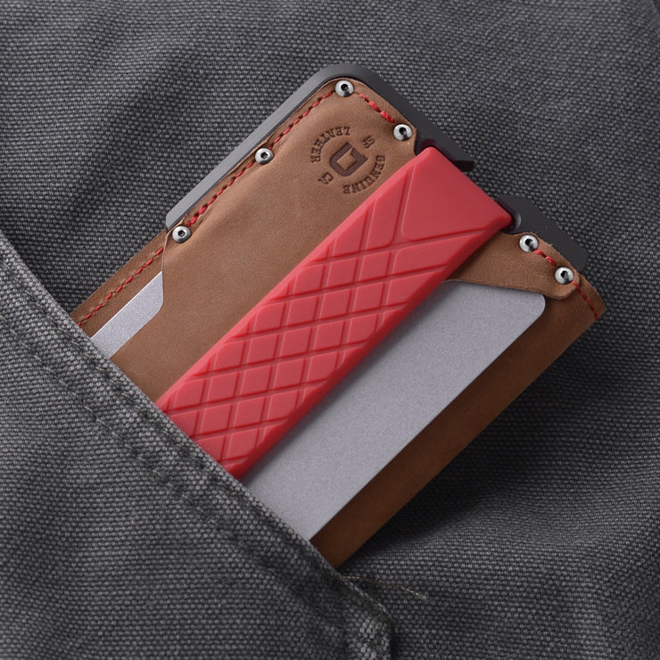 Dango D01 Dapper Bifold Special Edition Wallet (Slate Grey) - In Pocket