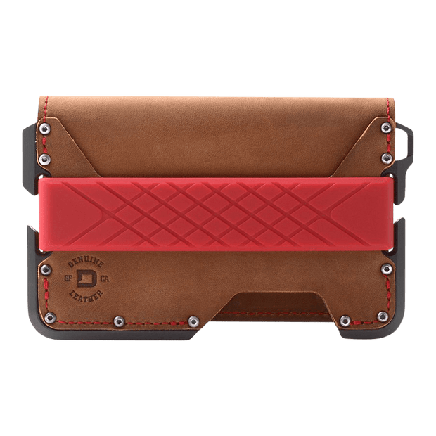 Dango D01 Dapper Bifold Special Edition Wallet (Slate Grey) - Front View
