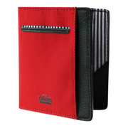 Loft of Cambie Flip Wolyt with RFID Shield (Red/Black) - Front View