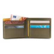 Pacsafe RFIDsafe TEC Bifold Wallet (Utility Green) - Open View