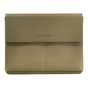 Pacsafe RFIDsafe TEC Passport Wallet (Utility Green) - Front View