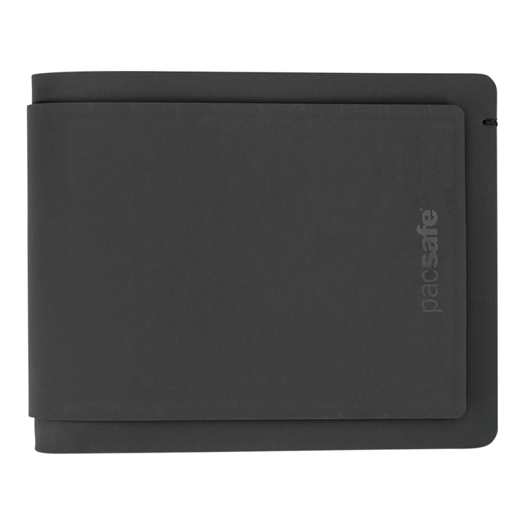 Pacsafe RFIDsafe TEC Bifold Plus Wallet at Wallet Co - Front View