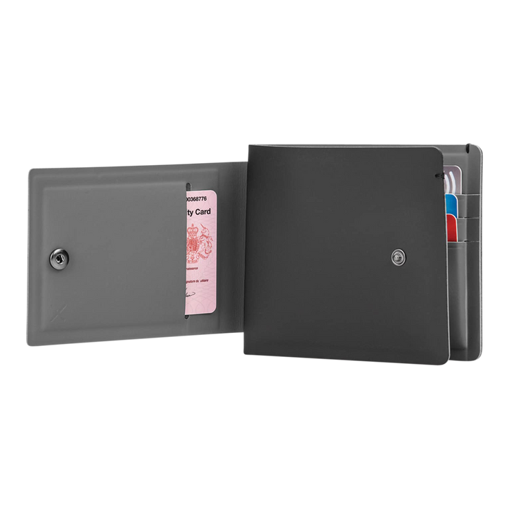 Pacsafe RFIDsafe TEC Bifold Plus Wallet at Wallet Co - Outside Pocket
