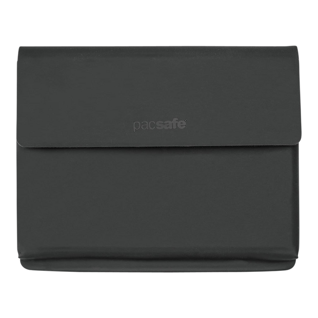 Pacsafe RFIDsafe TEC Passport Wallet (Black) - Front View