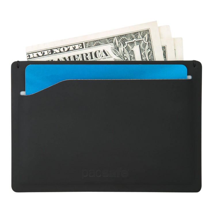 Pacsafe RFIDsafe TEC Sleeve Wallet (Black) - Cash & Card