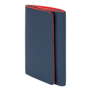 Pacsafe RFIDsafe TEC Trifold Wallet (Navy/Red) - Slim Profile