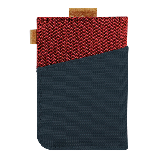 Loft of Cambie Wolyt Sleeve Sport (Red/Navy) - Back View