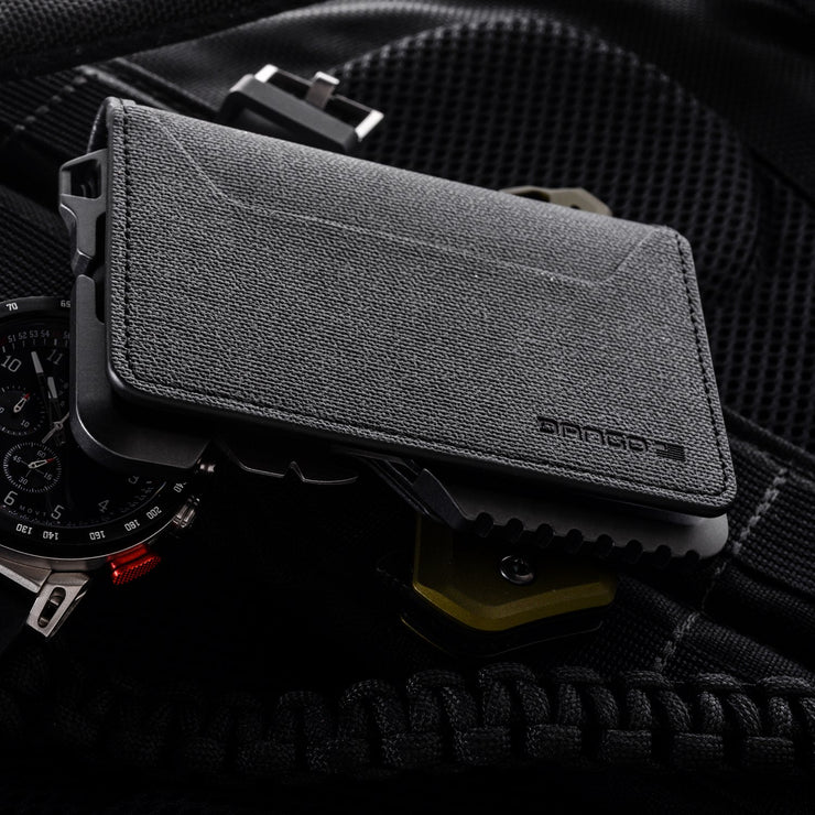 Dango T01 Tactical Bifold Spec-Ops Special Edition Wallet (Gunmetal) - RFID Blocking