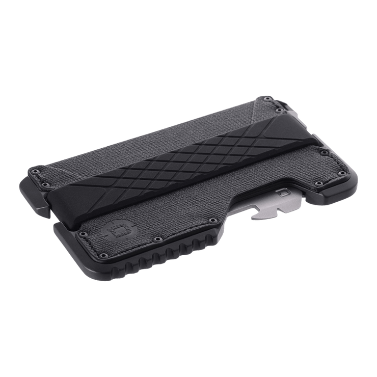 Dango T01 Tactical Spec-Ops Special Edition Wallet (Gunmetal) - Angled View View
