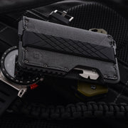 Dango T01 Tactical Bifold Spec-Ops Special Edition Wallet (Gunmetal) - Mil-Spec Bolts