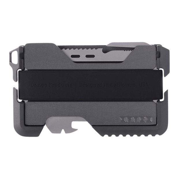 Dango T01 Tactical Spec-Ops Special Edition Wallet (Gunmetal) - Back View