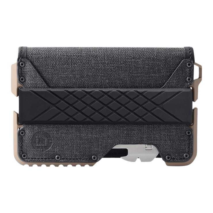 Dango T01 Tactical Bifold Spec-Ops Wallet (Desert Sand) - Front View