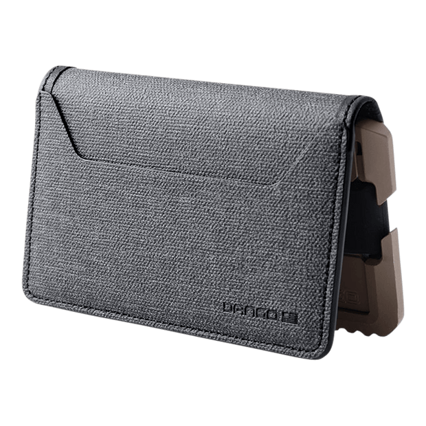 Dango T01 Tactical Bifold Spec-Ops Wallet (Desert Sand) - Back Pocket
