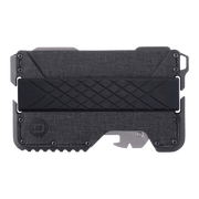 Dango T01 Tactical Spec-Ops Special Edition Wallet (Gunmetal) - Front View