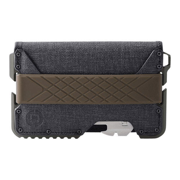 Dango T01 Tactical Bifold Spec-Ops Wallet (OD Green) - Front View