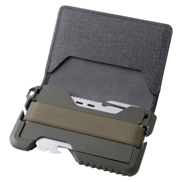 Dango T01 Tactical Bifold Spec-Ops Wallet (OD Green) - Cerakote Ceramic Coating