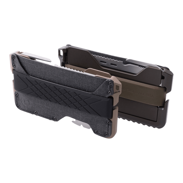 Dango T01 Tactical Spec-Ops Wallet (Desert Sand) - T01 Tactical Spec-Ops Angled View