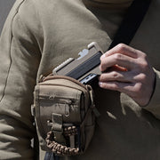 Dango T01 Tactical Spec-Ops Wallet (Desert Sand) - In Use