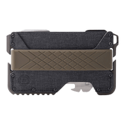 Dango T01 Tactical Spec-Ops Wallet (OD Green) - Front View