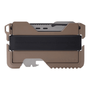 Dango T01 Tactical Spec-Ops Wallet (Desert Sand) - Back View