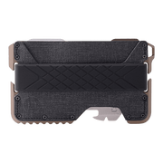 Dango T01 Tactical Spec-Ops Wallet (Desert Sand) - Front View