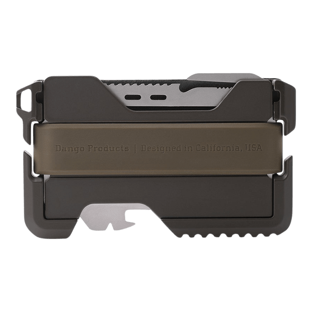 Dango T01 Tactical Spec-Ops Wallet (OD Green) - Back View