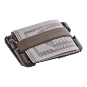 Dango T01 Tactical Bifold Spec-Ops Wallet (OD Green) - Silicone Band