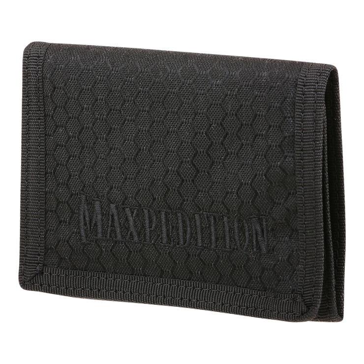 Maxpedition AGR TFW Trifold Wallet (Black) - Front View