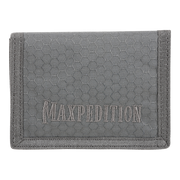 Maxpedition AGR TFW Trifold Wallet (Grey) - Triple Nylon Fabric Construction