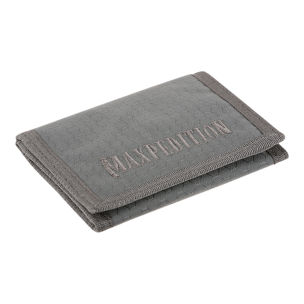 Maxpedition AGR TFW Trifold Wallet (Grey) - Slim Profile