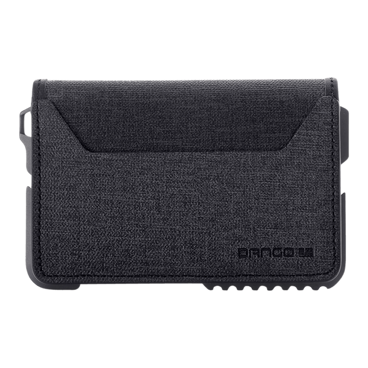 Dango T01 Tactical Bifold Spec-Ops Special Edition Wallet (Gunmetal) - Back View