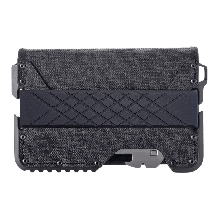 Dango T01 Tactical Bifold Spec-Ops Special Edition Wallet (Gunmetal) - Front View
