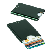 Thin King Gorditio Aluminium Card Case (Bullitt Green) - RFID Safe