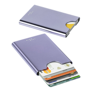 Thin King Gorditio Aluminium Card Case (Lavender) - RFID Safe